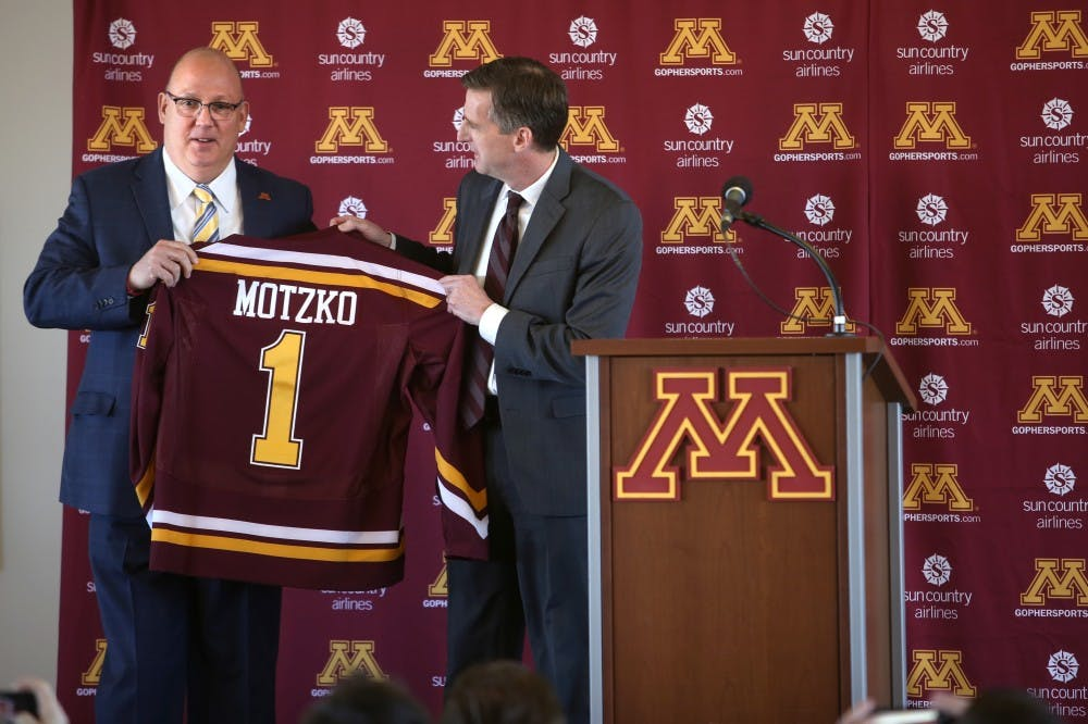 BIG10: Bob Motzko Promises 'toughness' And 'to Do It The Right Way' As New Gophers Coach