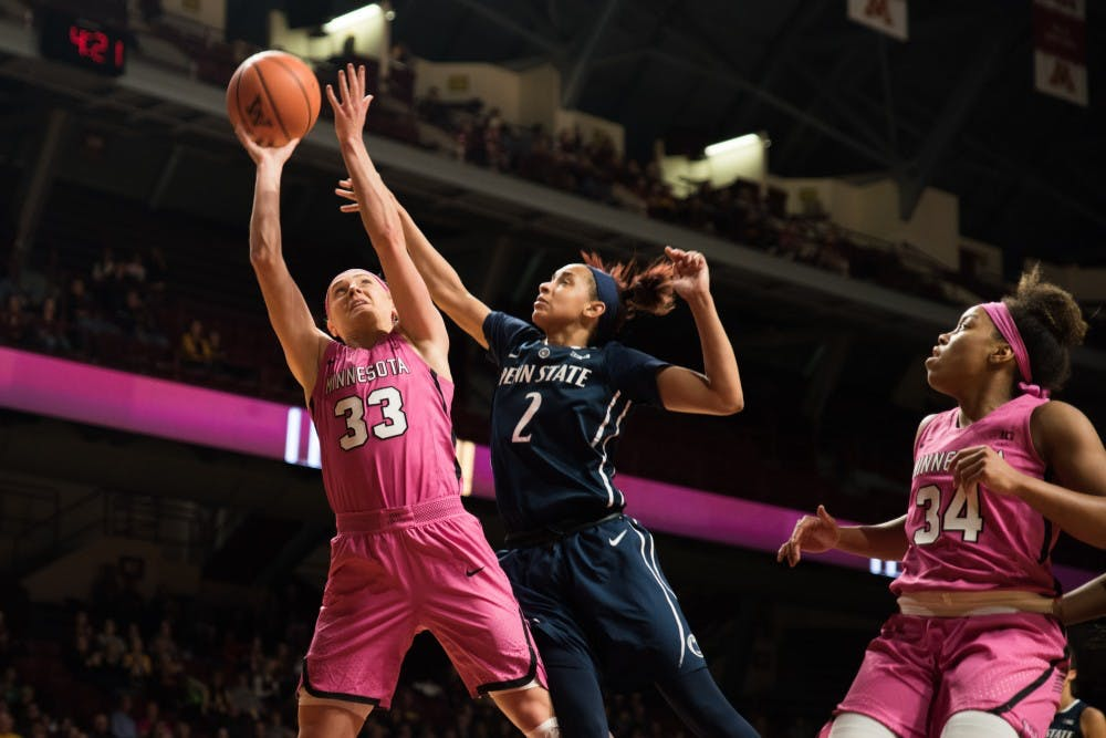 Gophers rout Penn State to win second game in a row