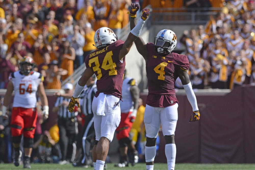Gophers lose second straight in Big Ten, 31-17 to Purdue