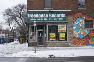Treehouse Records is open for business on Wednesday, Dec. 13 at Treehouse Records on Lyndale Avenue in Minneapolis. The store is closing after 44 years because its owner, Mark Trehus, is retiring.