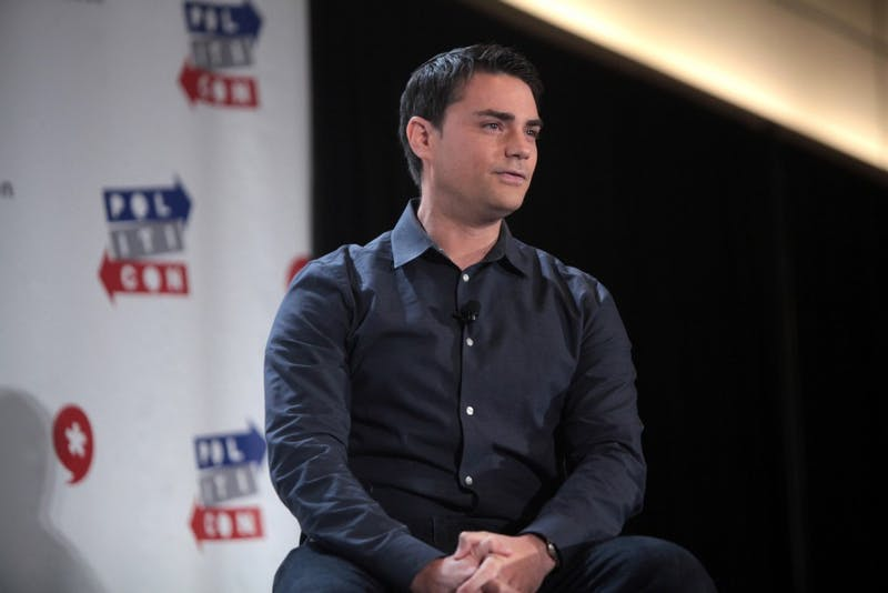 Commentator Ben Shapiro speaks at the 2016 Politicon at the Pasadena Convention Center on June 26, 2016 in Pasadena, California.