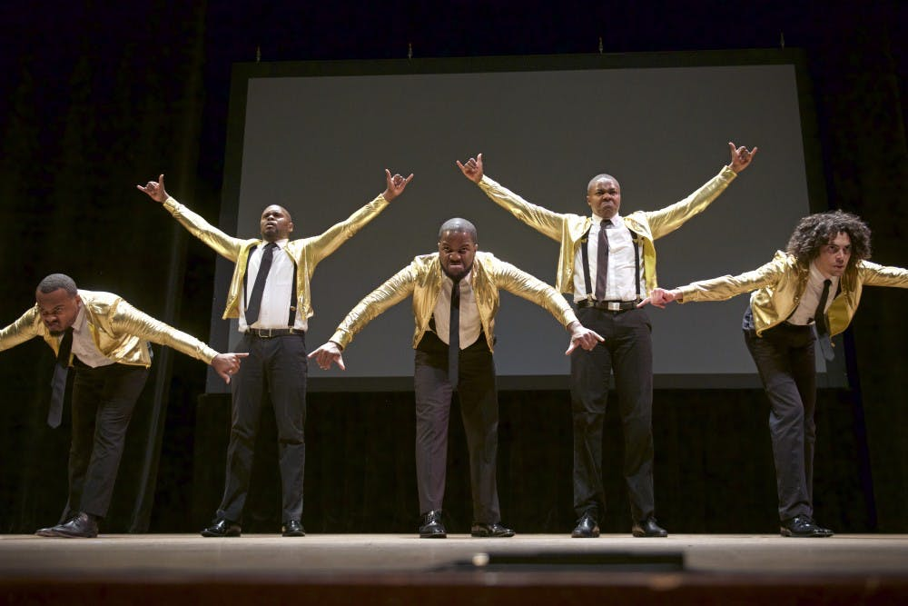 NPHC Step Competition held on Saturday of homecoming week