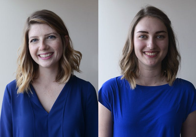 Kelly Busche and Genevieve Locke, the new Editor-in-Chief and Business Operations Officer for the Minnesota Daily.