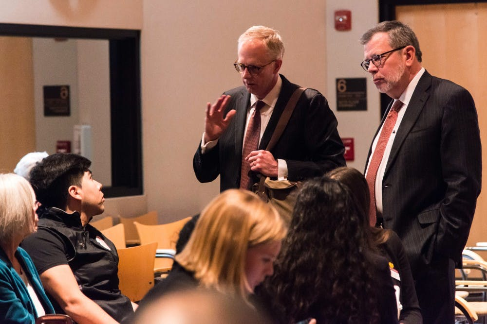 Discontented students interrupt February Board of Regents meeting