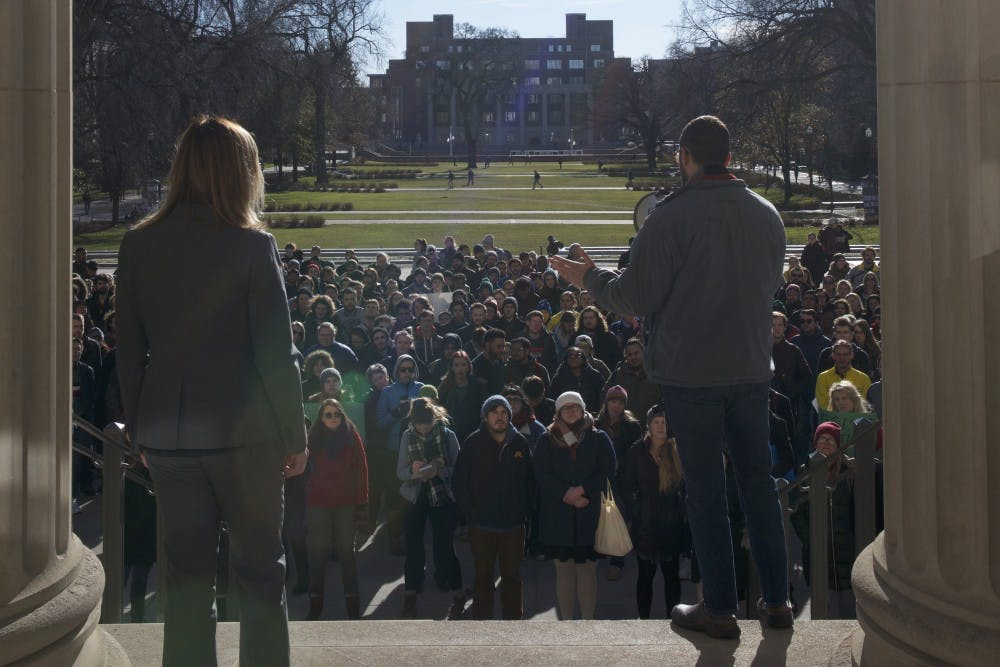UD joins national grad student rally against House tax bill