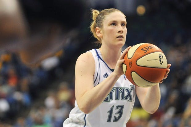 Lindsay Whalen Takes Over Women's Basketball