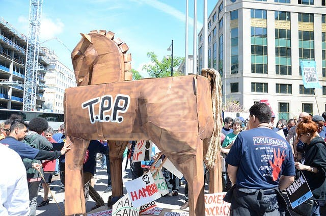 The USA Secedes from the TPP