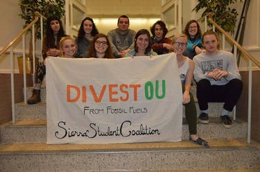 Divest Fest will take place Saturday. (Provided by the Sierra Student Coalition Facebook page)