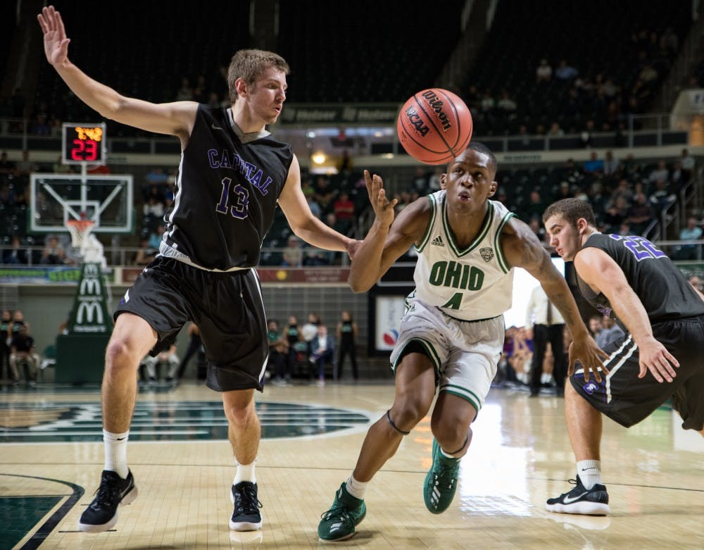 Men's Basketball: Ohio to look much different in Tuesday's rematch against Iona