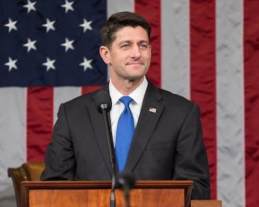 Paul Ryan announced he will not seek re-election. (photo via Wikimedia Commons user U.S. Congress)