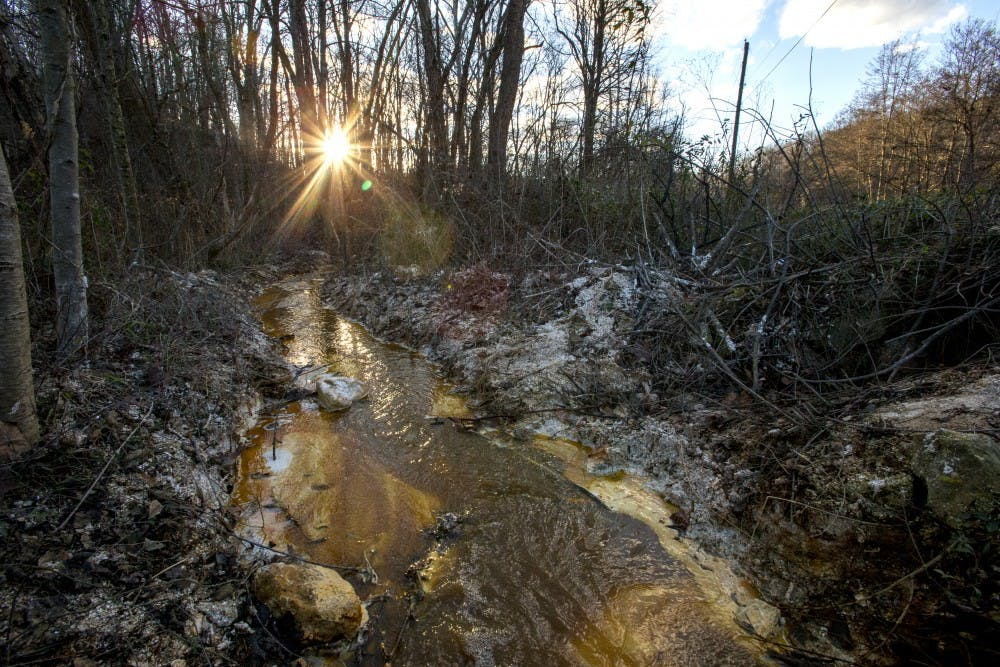 How acid mine drainage has affected southeast Ohio's waterways