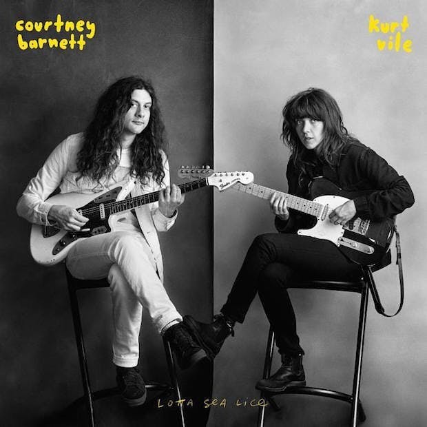 Album review: Courtney Barnett and Kurt Vile prove to be indie-power duo on 'Lotta Sea Lice'