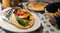 Restaurant Salaam has a number of halal compliant dishes including a Shwarma wrap (pictured above) Resaurant Salaam is located on 21 W Washington St in Athens, Ohio. (Blake Nissen | Photo Editor)