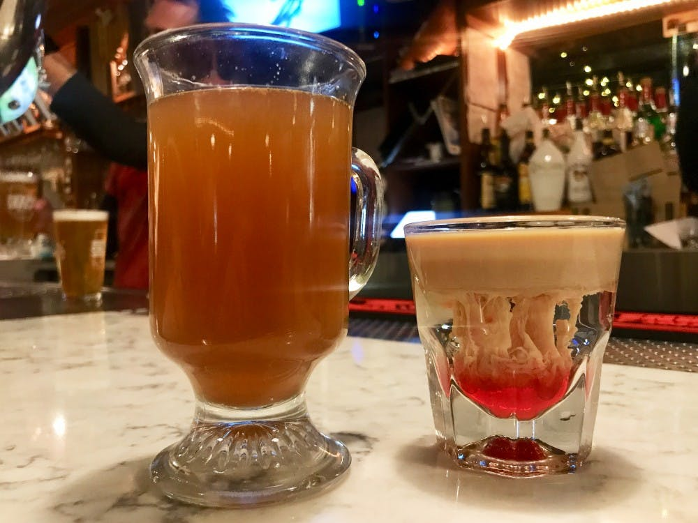 Uptown bars get into the halloween spirit with themed drinks