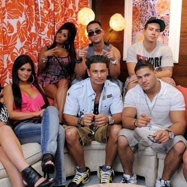 Watching 'Jersey Shore' and other reality TV shows is a good way to take your mind off of midterms. (photo via @jerseyshore Instagram)
