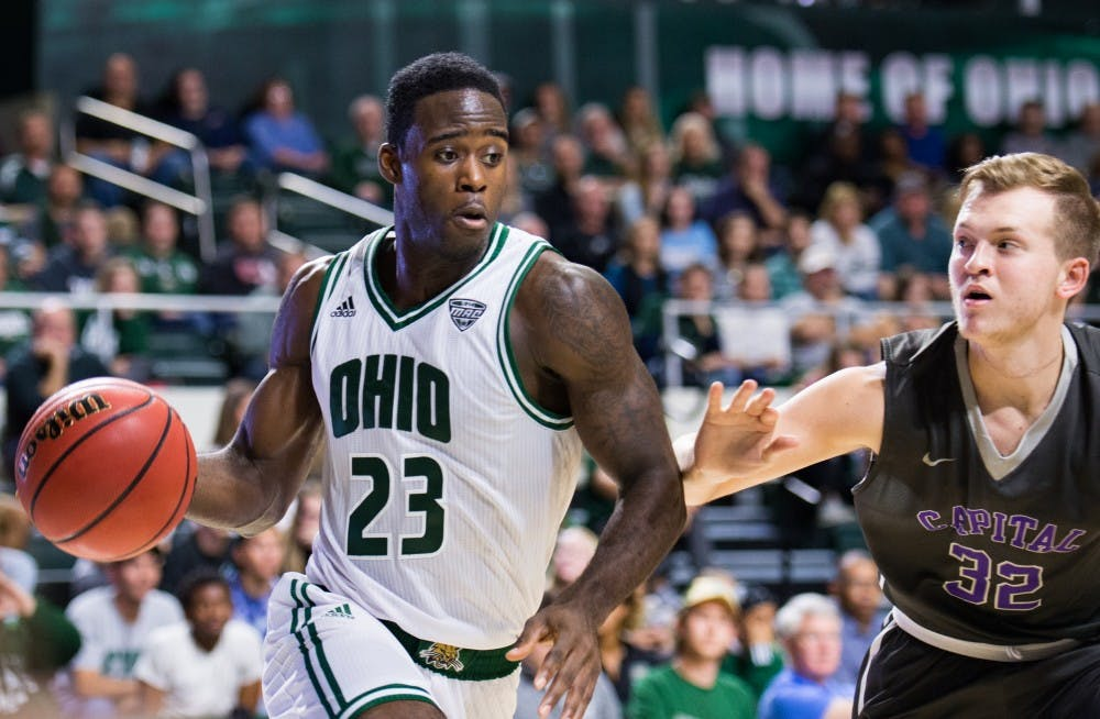 Men's Basketball: Mickle returns as Ohio clobbers Coppin State 80-37
