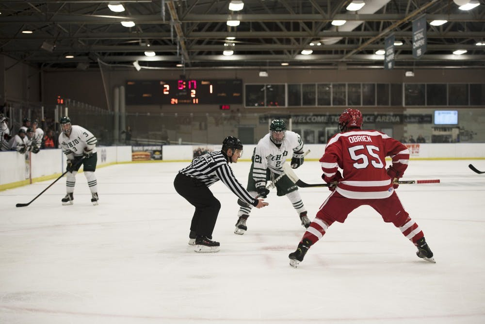Hockey: Ohio falls to Stony Brook in second consecutive overtime game