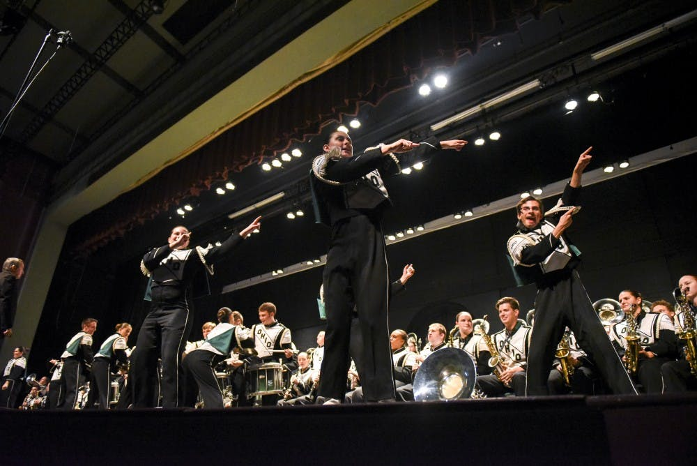 Marching 110 closes landmark season with exhilarating performance at its Varsity Show
