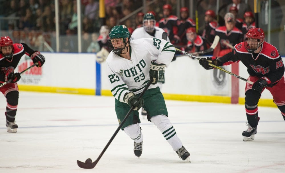 Hockey: Amid Ohio's injuries, Gabe Lampron is making the most out of his opportunity