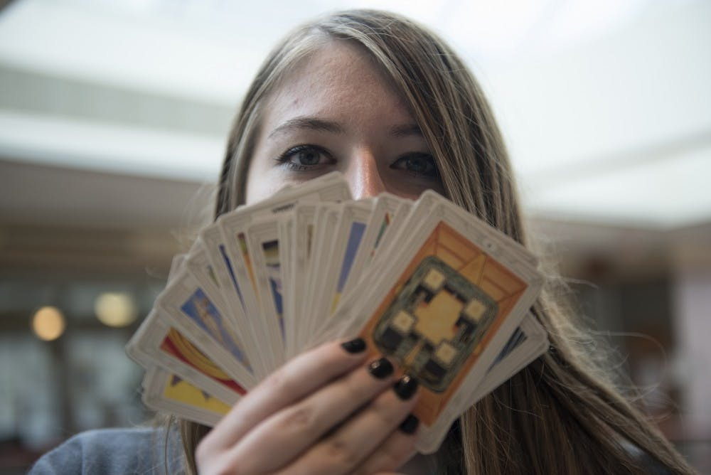 Ancient art of reading tarot cards is still used today