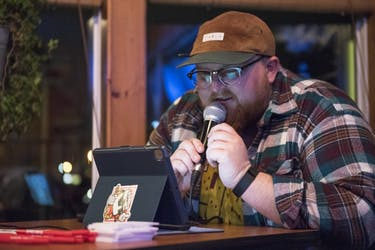 Kyle Dasher hosts Trivia Night at Sol Island Bar and Grill on Thursday.