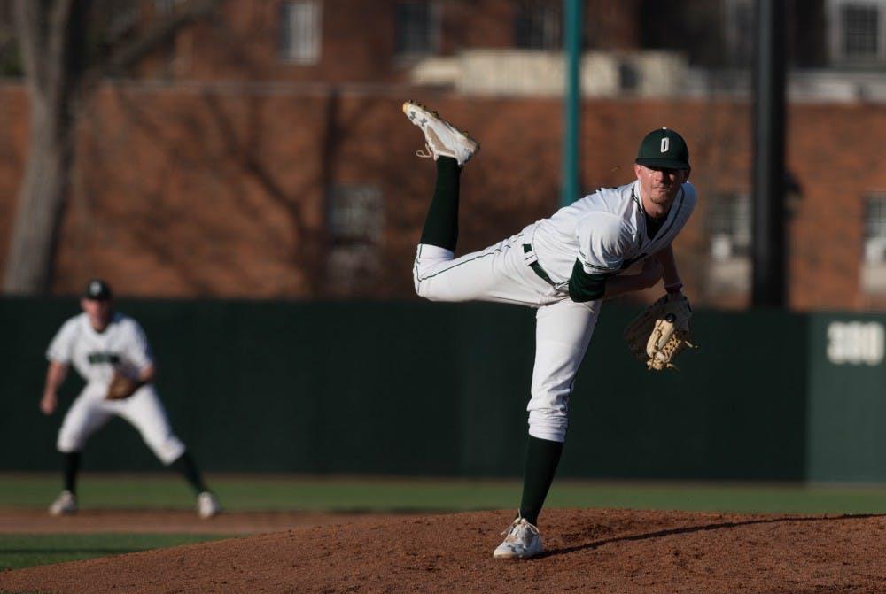 Baseball: Ohio no-hit Sunday, splits weekend series with Nebraska-Omaha