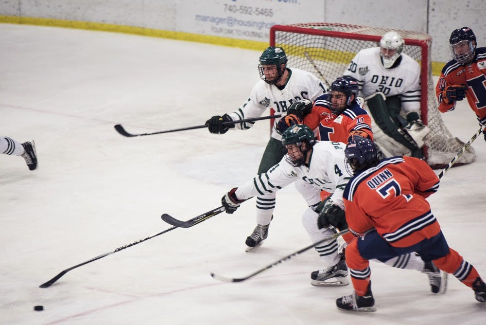 Hockey: Ohio heads to national tournament as No. 4 seed