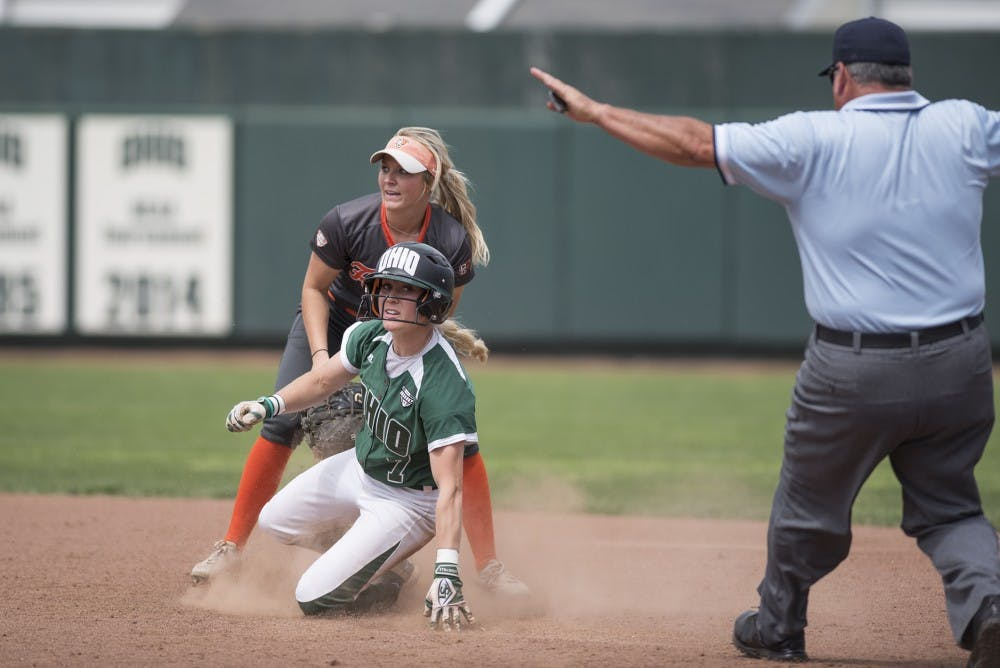 Softball: Ohio wins one game over weekend at John Cropp Classic