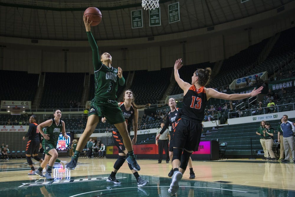 Women's Basketball: With Burke and Agler healthy, Bobcats eye MAC Tournament