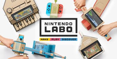 Nintendo released the trailer for its latest set of hardware — cardboard cutouts. (photo via nintendo.com)