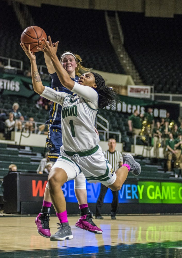 Women's Basketball: Hooks dominates, but a familiar face wins game for Bobcats