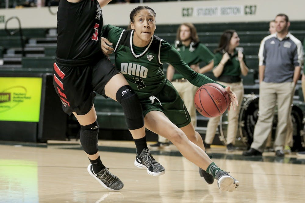 Women's Basketball: Ohio avoids another close loss with 69-58 win over Bowling Green