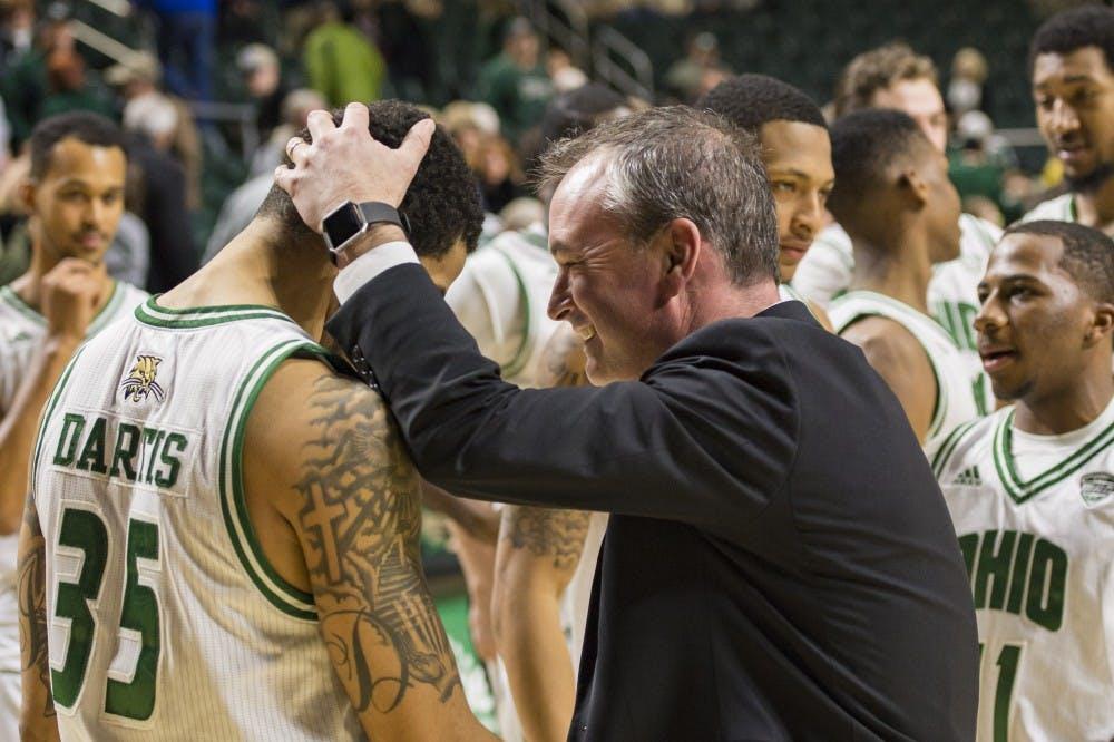 Men's Basketball: Jordan Dartis has career game in Ohio's 99-75 win over Akron