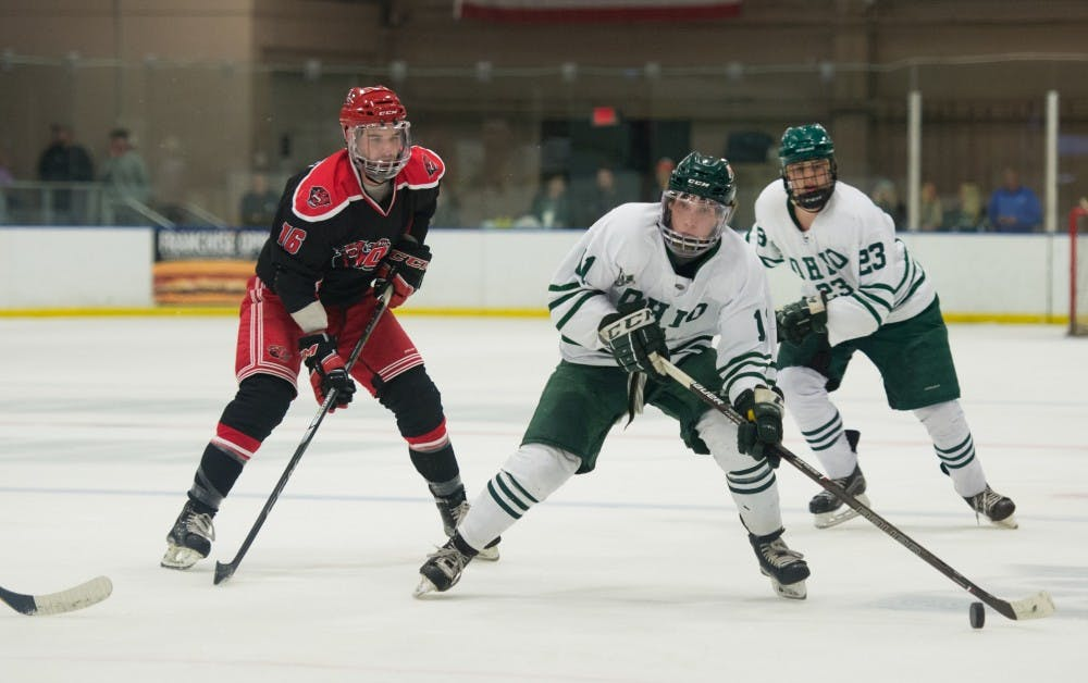 Hockey: Ohio's power play explodes in 7-3 win over Davenport