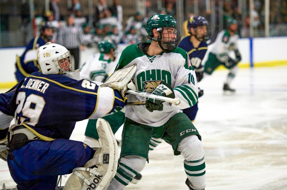 Hockey: Ohio will face John Carroll in 60th season opener
