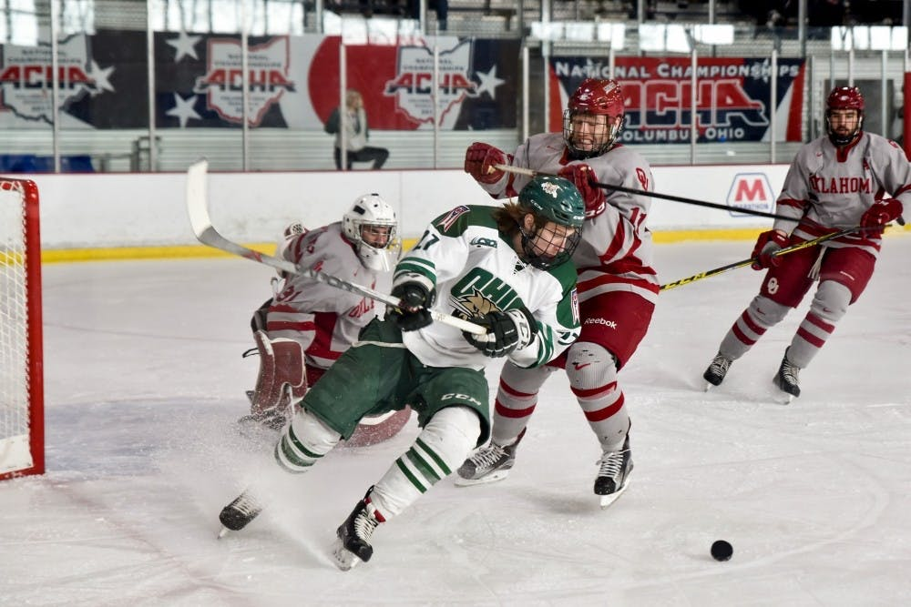 Hockey: Matt Rudin shows no rust from injury in 4-1 win over Lindenwood