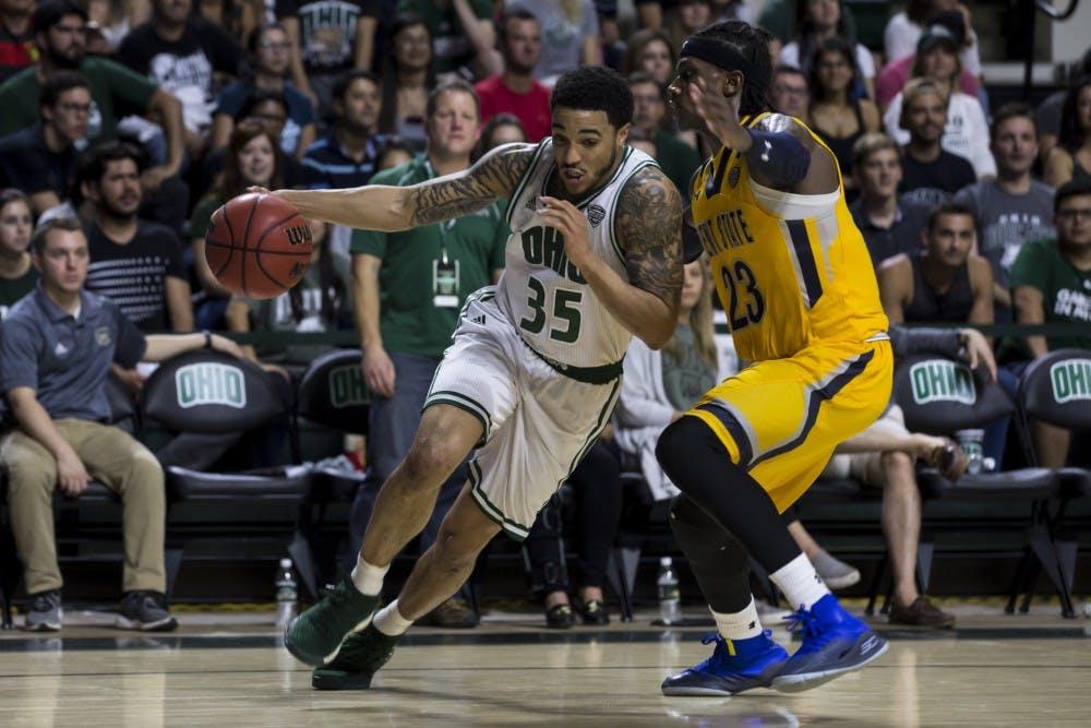 Men's Basketball: Jordan Dartis dominates Jaylin Walker in Ohio's 88-76 win over Kent State