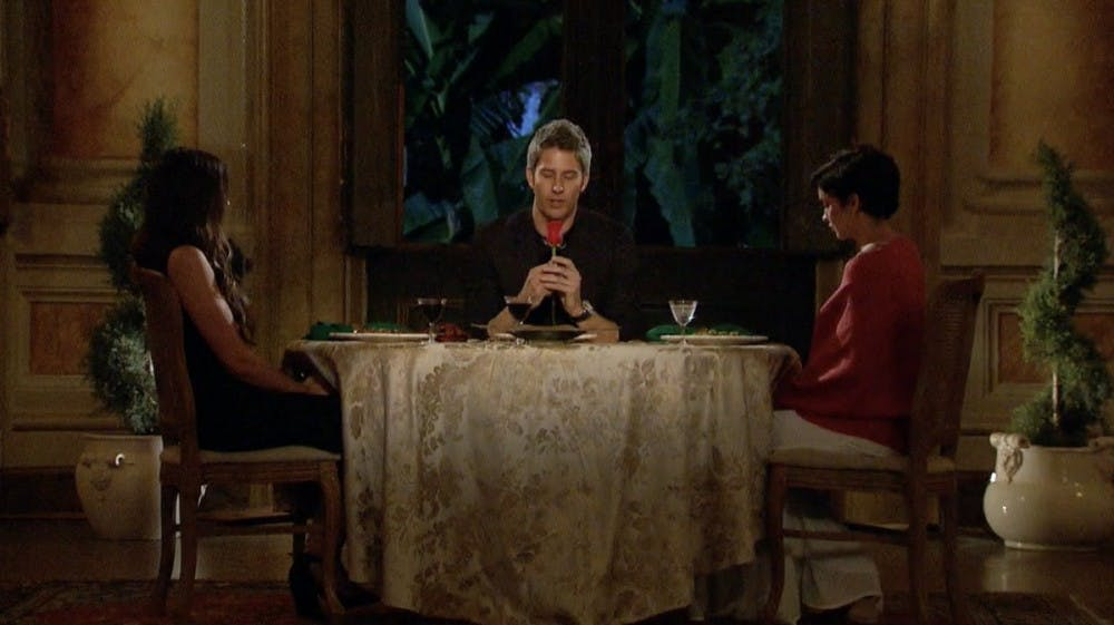 'The Bachelor' Recap: Arie Says Goodbye to Three Women Ahead of Hometowns