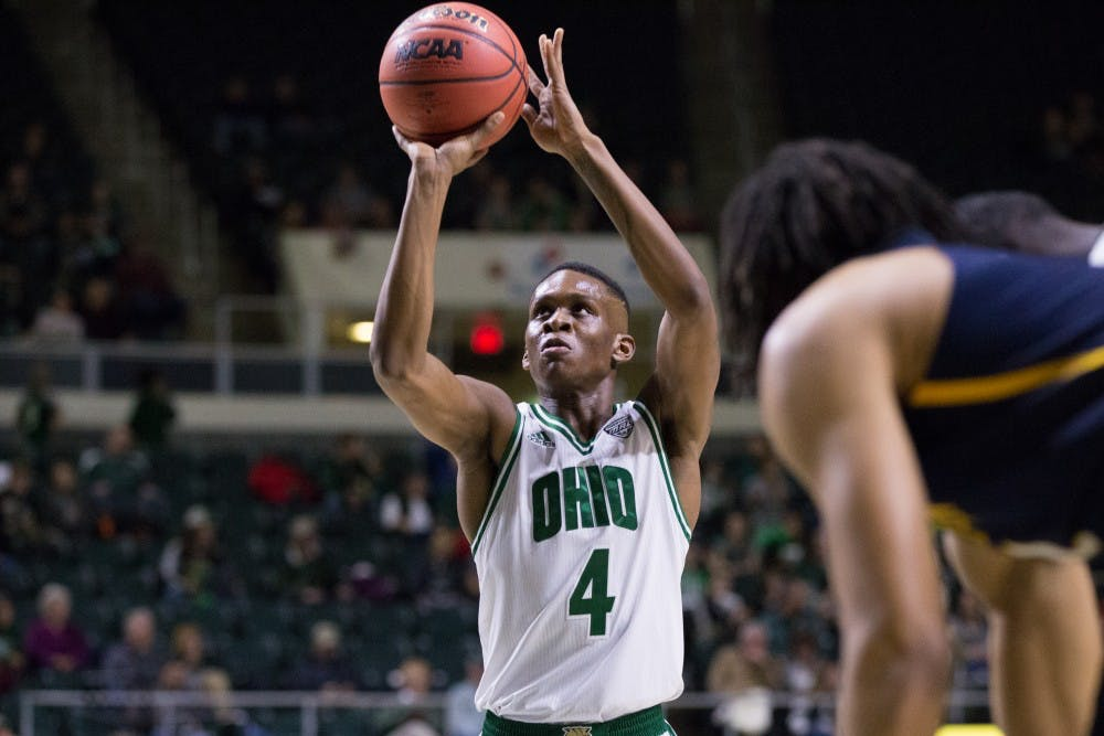 Men's Basketball: Ohio hosts MAC-leading Buffalo on Friday in search of bounce back