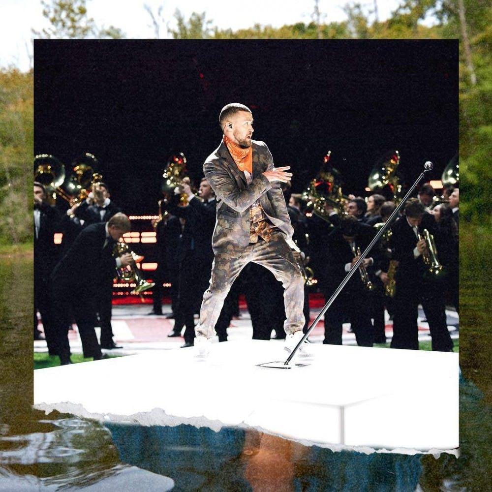 Justin Timberlake dances his heart out, honors Prince for some reason during the Super Bowl halftime show