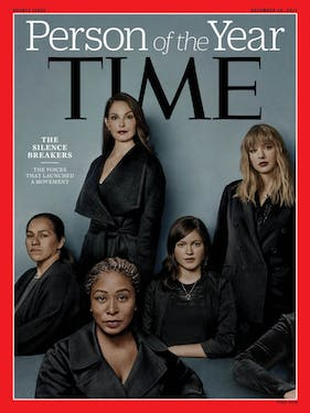 The Silence Breakers is TIme's Person of the Year. (via Time)