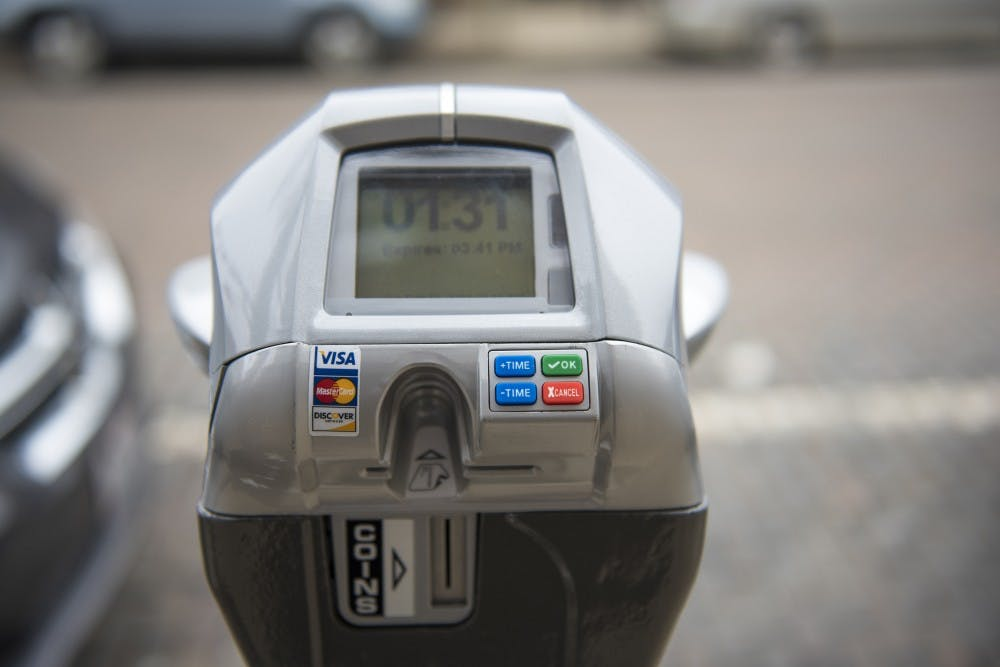 You can now pay for parking with your credit card at some meters Uptown