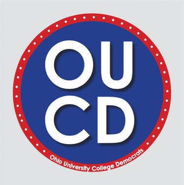 Ohio University College Democrats logo