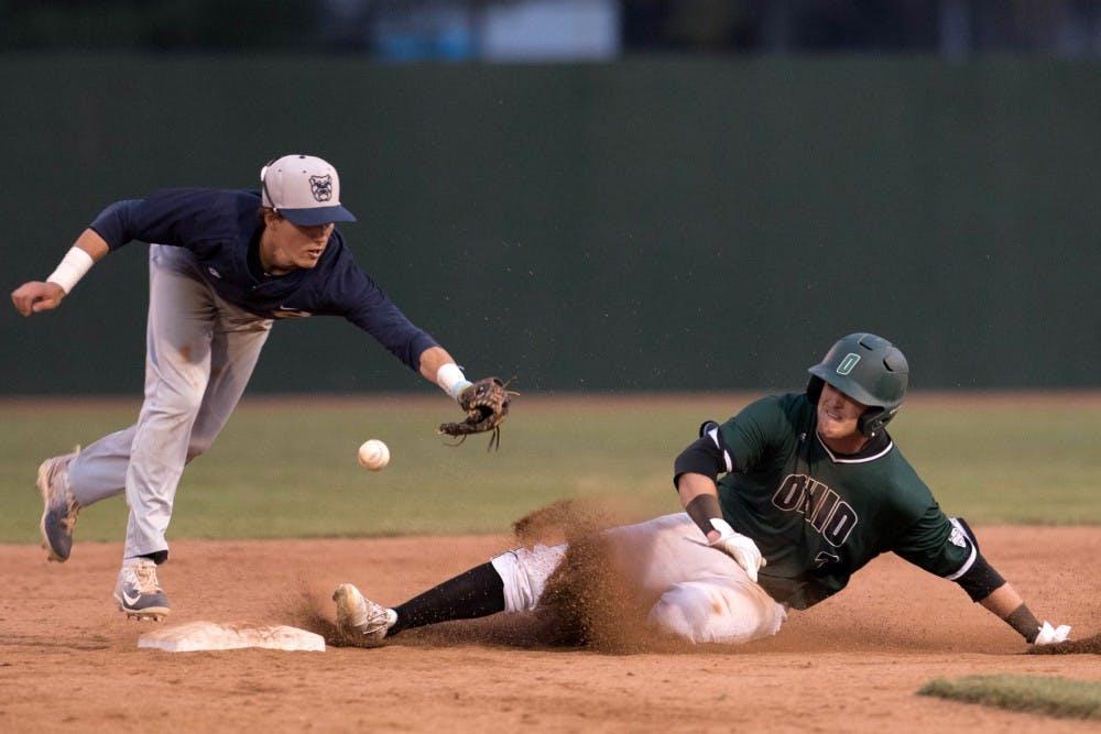 Baseball: Ohio splits opening series against Rider