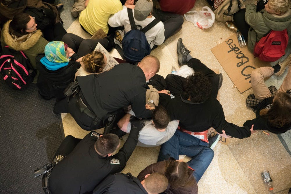 A year after arrests, 'Baker 70' students say fight isn't over