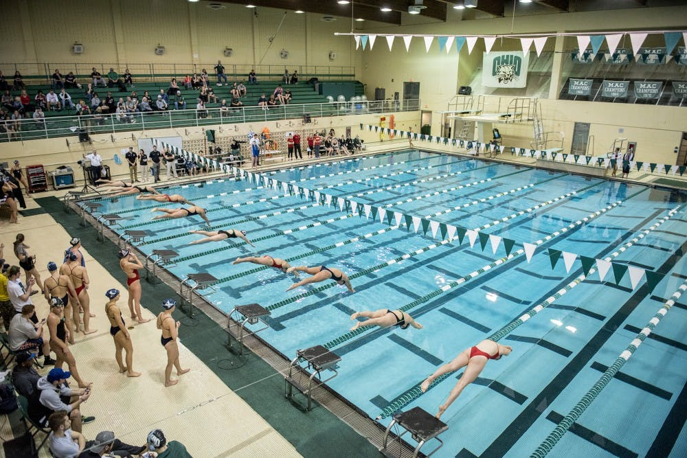 Swim And Dive Ohio Wins 13 Events In Opening Meet Of Season The Post