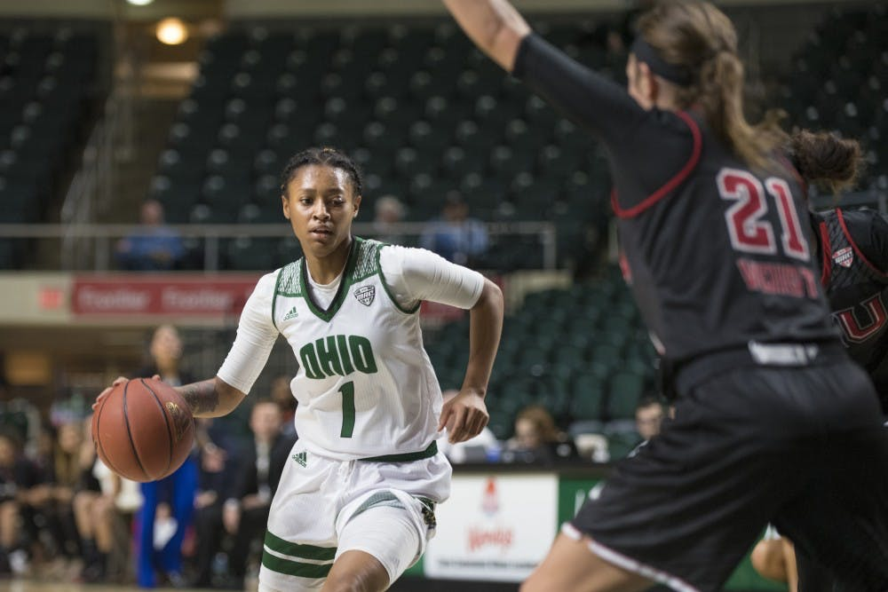Women's basketball: Hooks' steal and layup gives Ohio win