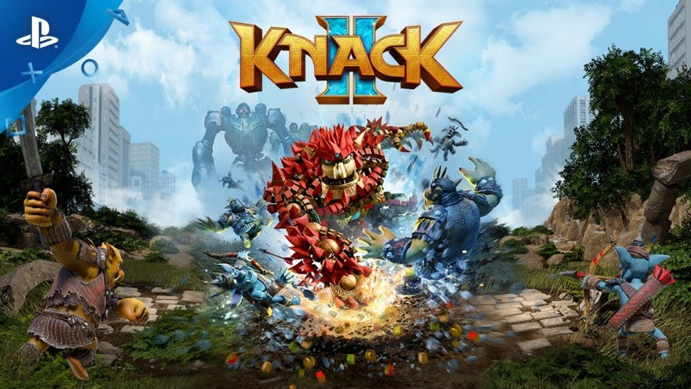 Video game Review: 'Knack 2' thrives in combat but lacks in storyline
