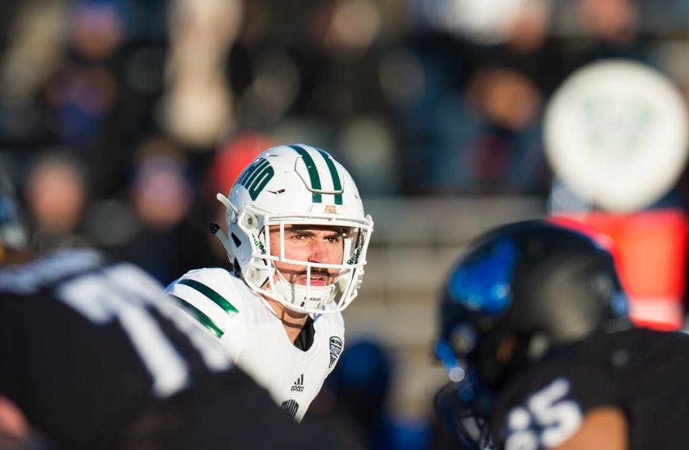 Rourke throws two TD passes in Ohio's Bahamas Bowl victory