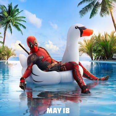 'Deadpool 2' hit theaters Friday. (via @deadpoolmovie on Instagram)